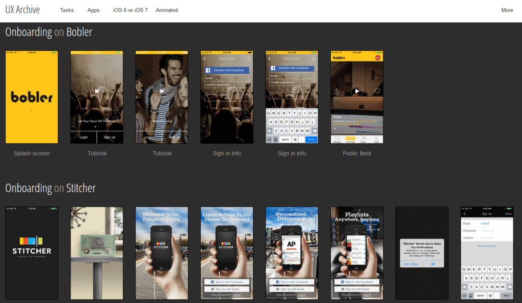 Top 10 Mobile UX/UI Design Pattern Libraries 24