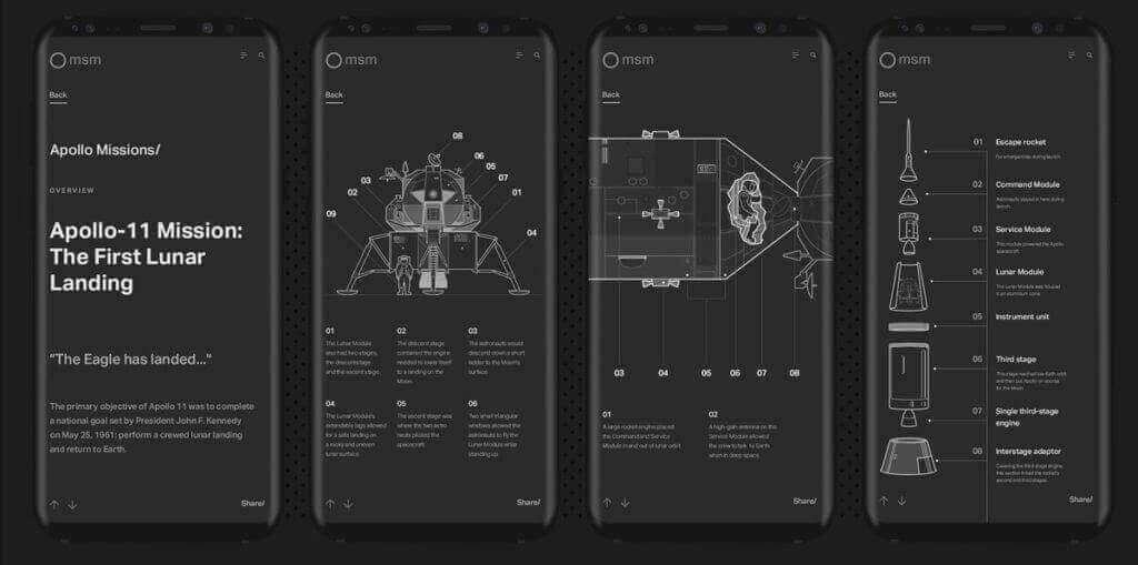 10 Best Examples Of Designing Mobile Navigation 17