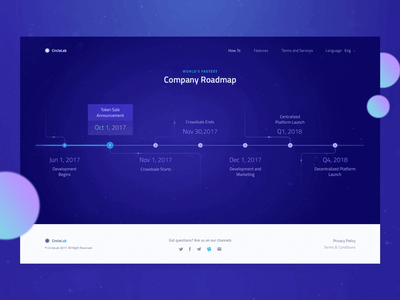 How to Create the Best ICO Website Design: Top 3 Examples 15