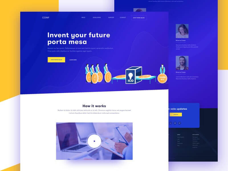 How to Create the Best ICO Website Design: Top 3 Examples 16