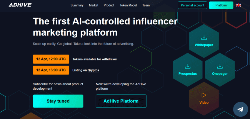 How to Create the Best ICO Website Design: Top 3 Examples 19
