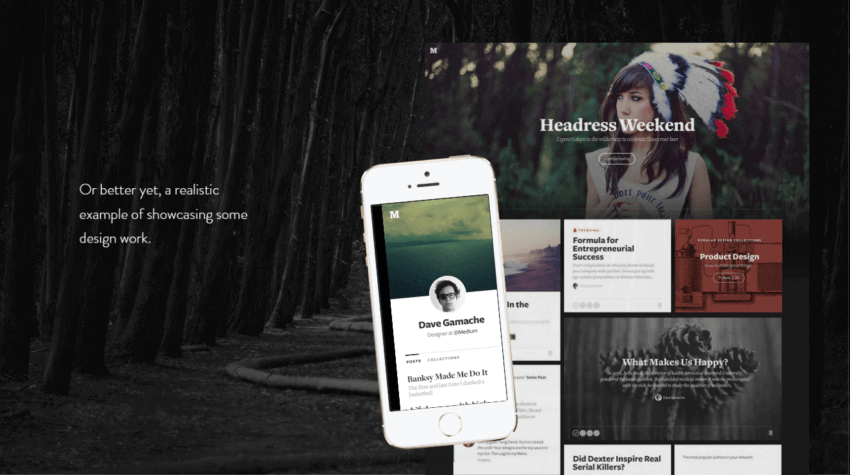7 Examples of Parallax Scrolling Websites for Inspiration 15