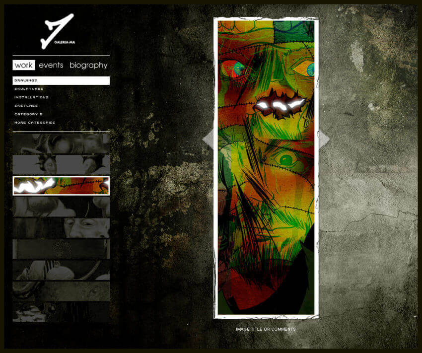 How to Create the Best Artist Website Design 21