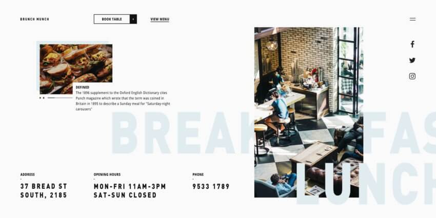 How to Build the Best Restaurant Website Design 18