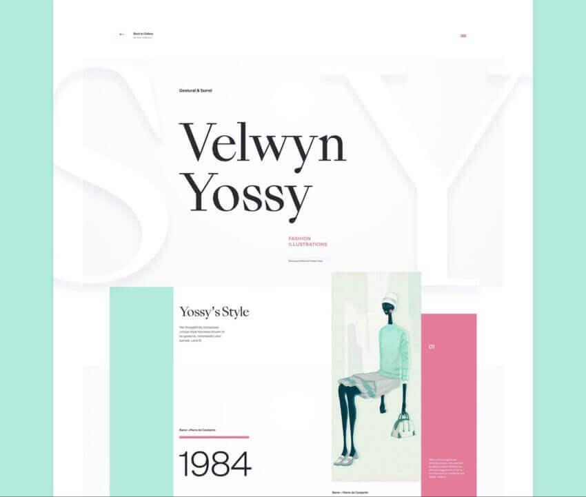 How to Create the Best Artist Website Design 15