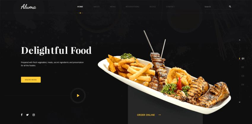 How to Build the Best Restaurant Website Design 19