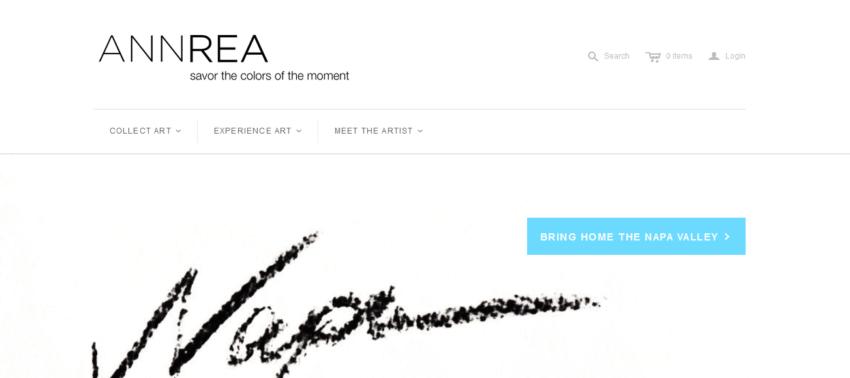 How to Create the Best Artist Website Design 27