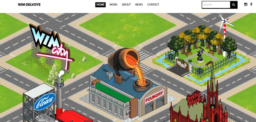 How to Create the Best Artist Website Design 26