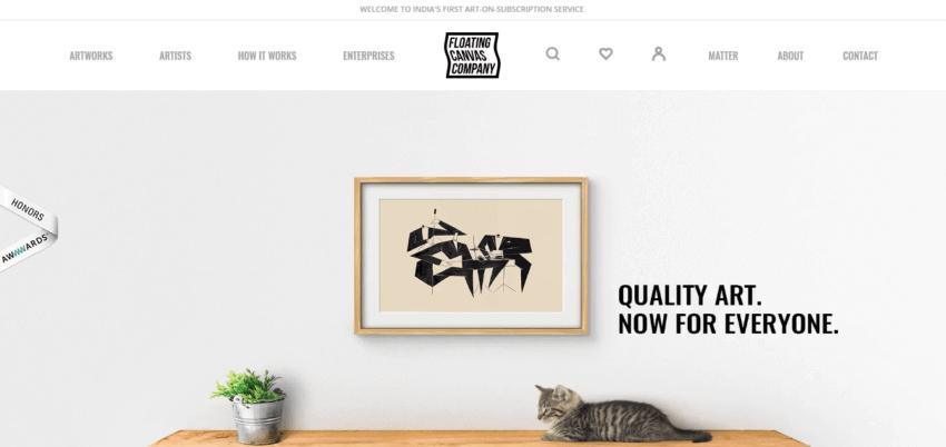 How to Create the Best Artist Website Design 23