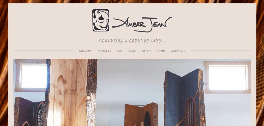 How to Create the Best Artist Website Design 30