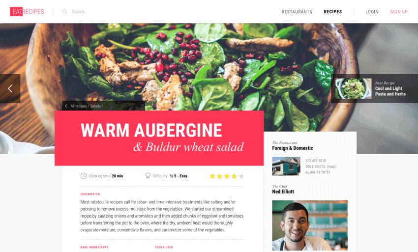 How to Build the Best Restaurant Website Design 17