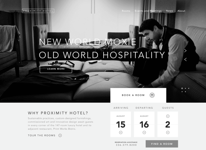 7 Tips For Perfect Hotel Website Design 19