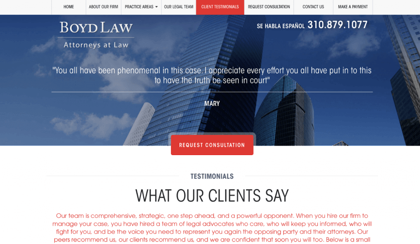How to Create an Amazing Website Design For a Law Firm 16
