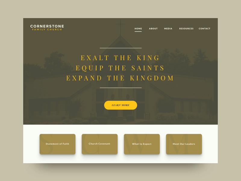 How to Build a Custom Church Website Design 20