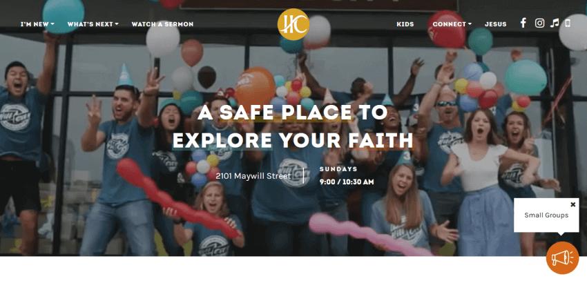 How to Build a Custom Church Website Design 27