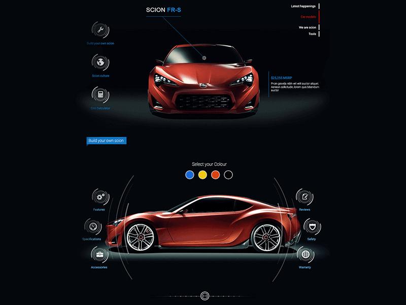 Automotive Website Design 22