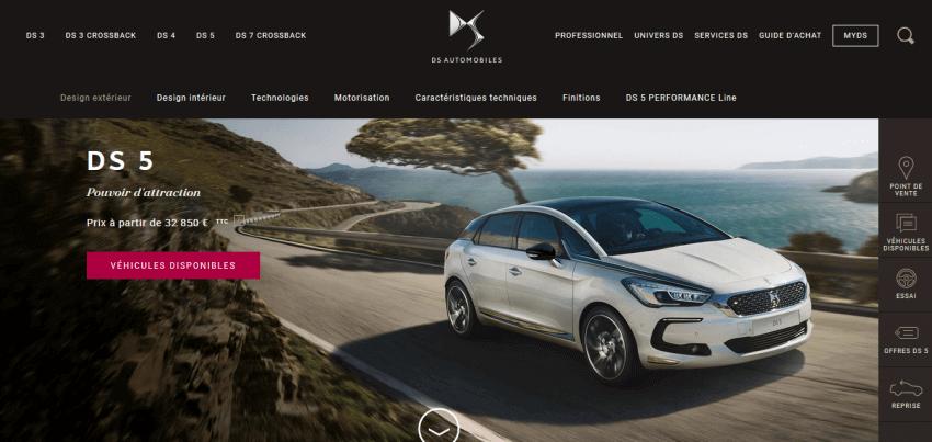 Automotive Website Design 26