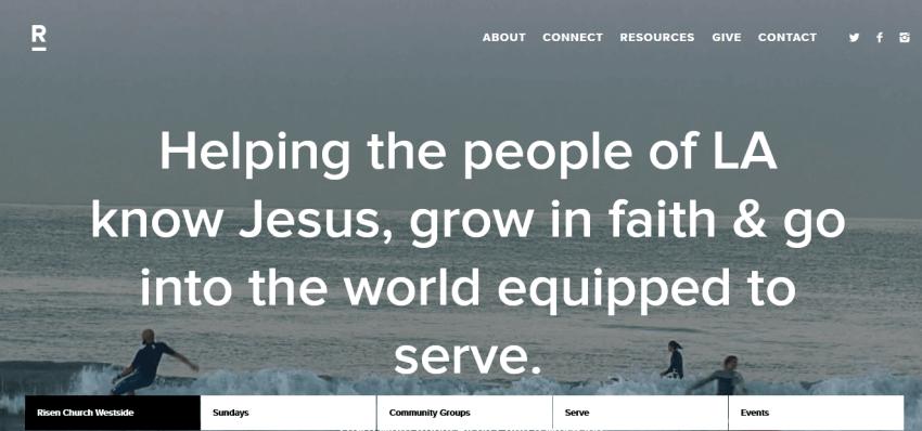 How to Build a Custom Church Website Design 26