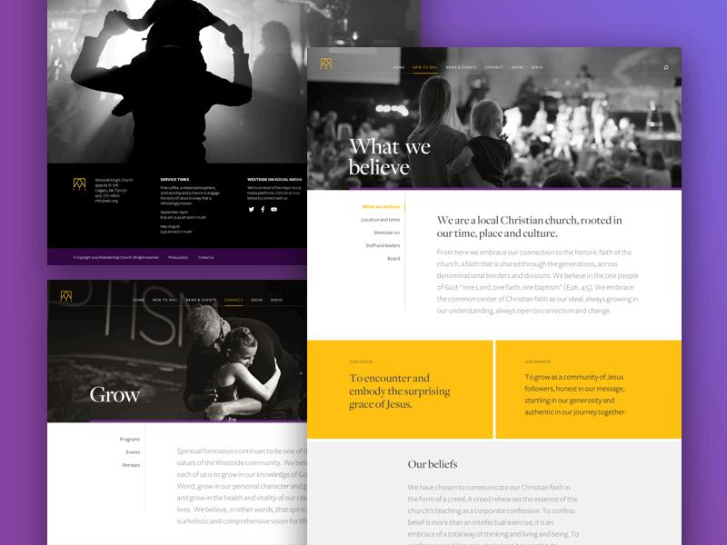 How to Build a Custom Church Website Design 19