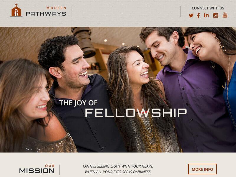 How to Build a Custom Church Website Design 22