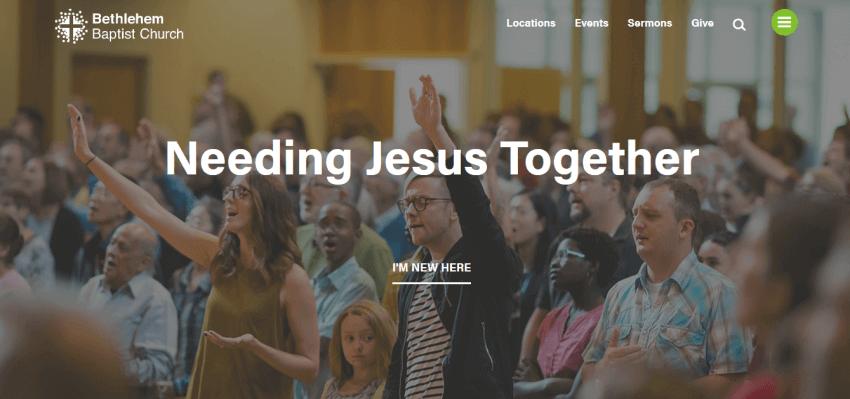 How to Build a Custom Church Website Design 23