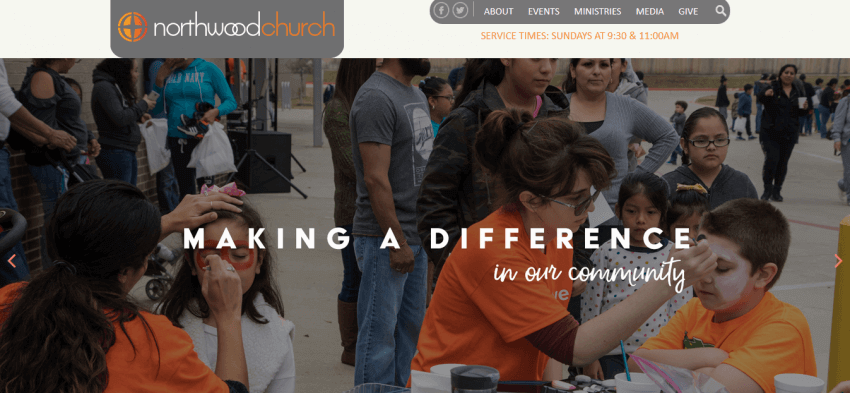 How to Build a Custom Church Website Design 24