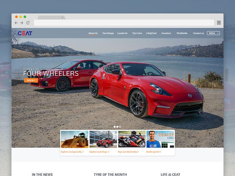 Automotive Website Design 21