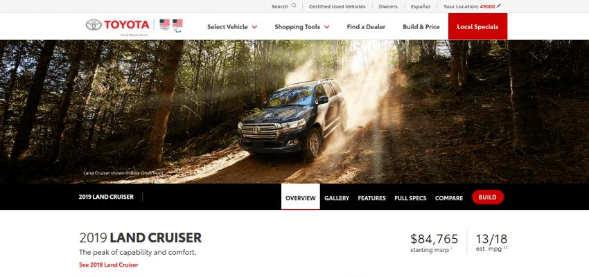 Automotive Website Design 23