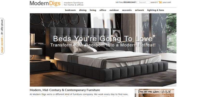 5 Tips for Creating a Furniture and Interior Website Design 20