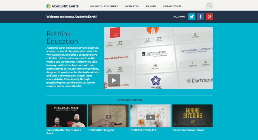 Educational Website Design 17