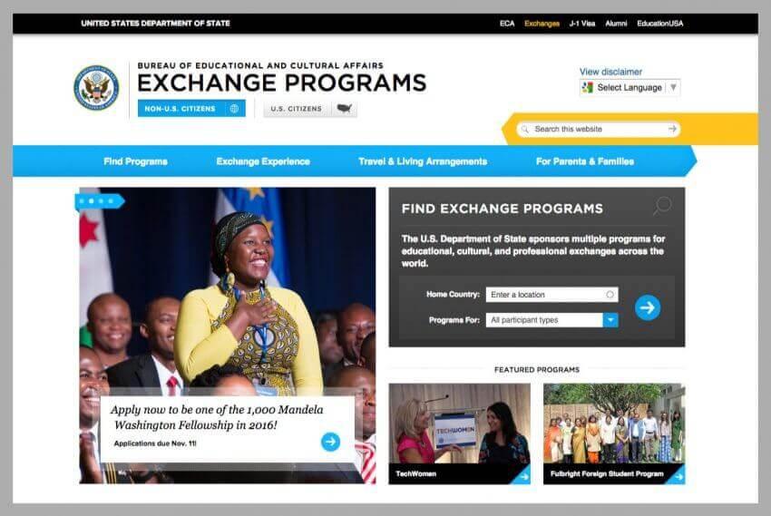 Educational Website Design 19