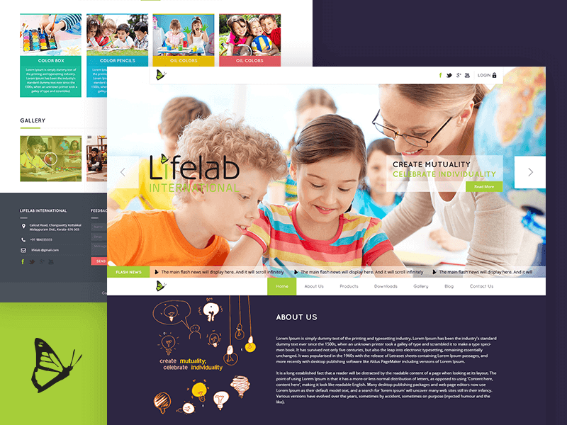 Educational Website Design 15