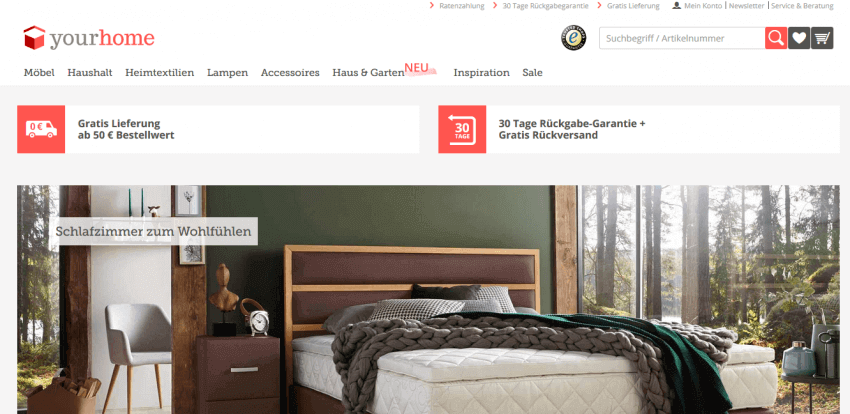 5 Tips for Creating a Furniture and Interior Website Design 24