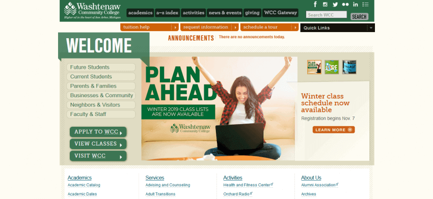 Educational Website Design 20
