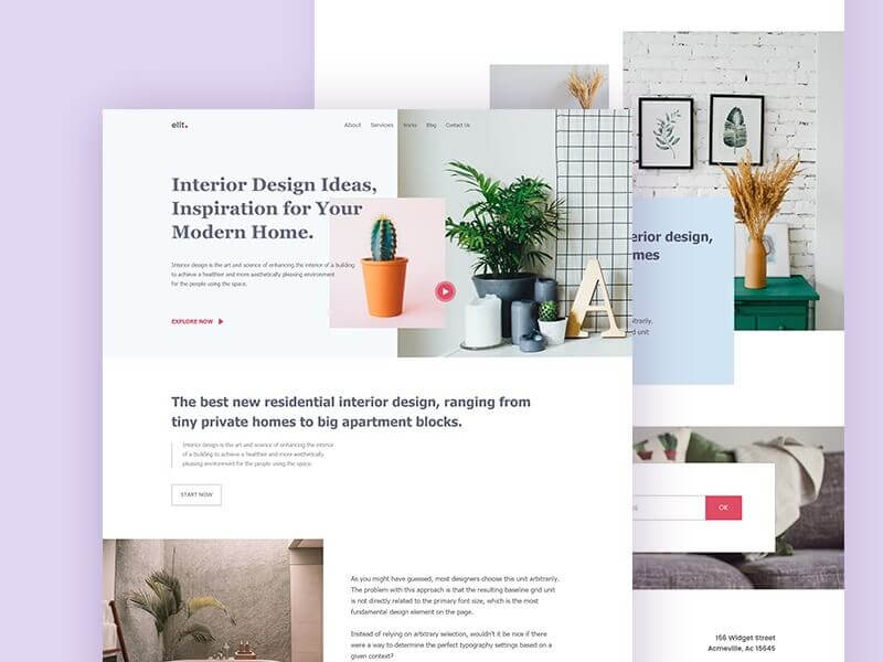 5 Tips for Creating a Furniture and Interior Website Design 18